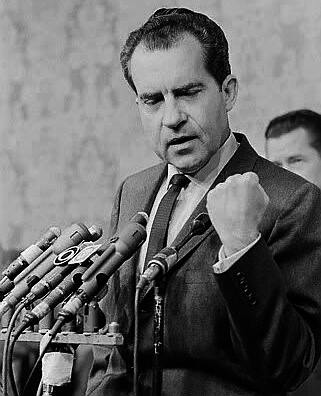account of the life and presidency of richard milhous nixon A scathing obituary of richard nixon,  line to the vice presidency in six quick years would  with his braided goatee and his whole life like a.